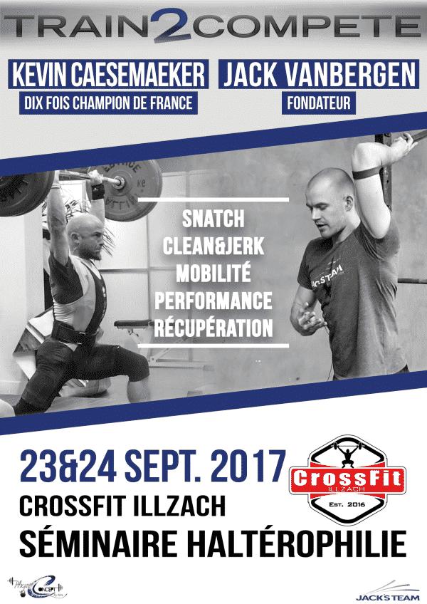 Séminaire CrossFIt Illzach - Train2Compete