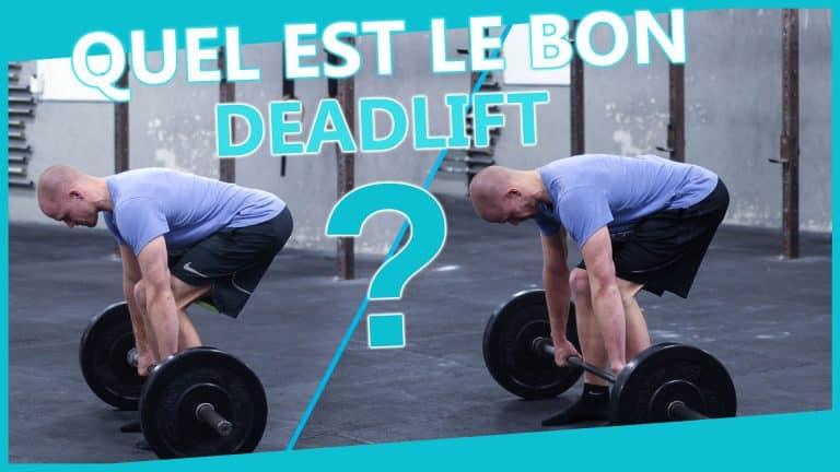 Deadlift – Soulevé de terre – CrossFit