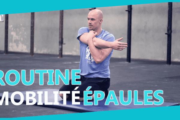 Mobilité des épaules CrossFit
