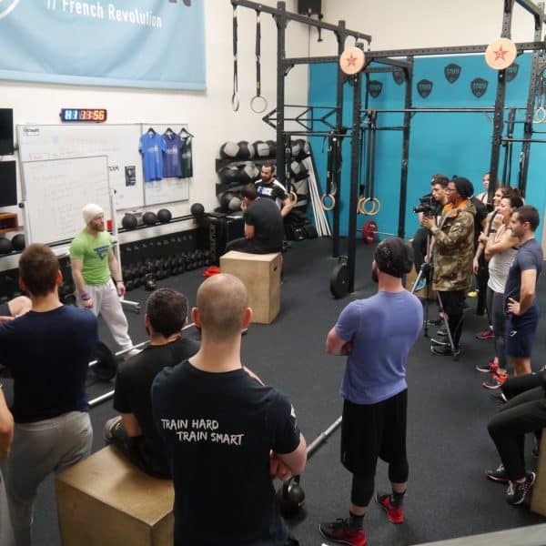 Séminaire CrossFit 1789 - Kevin Caesemaeker Train2compete