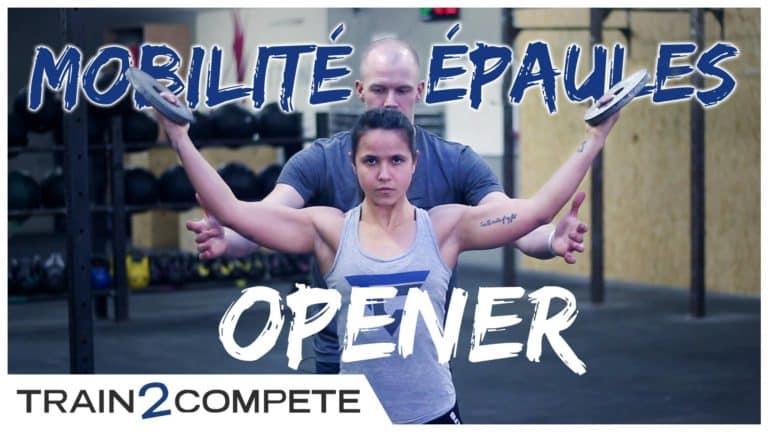 Mobilité épaules – shoulder opener