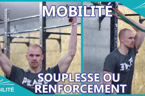 Mobilité - souplesse - CrossFit