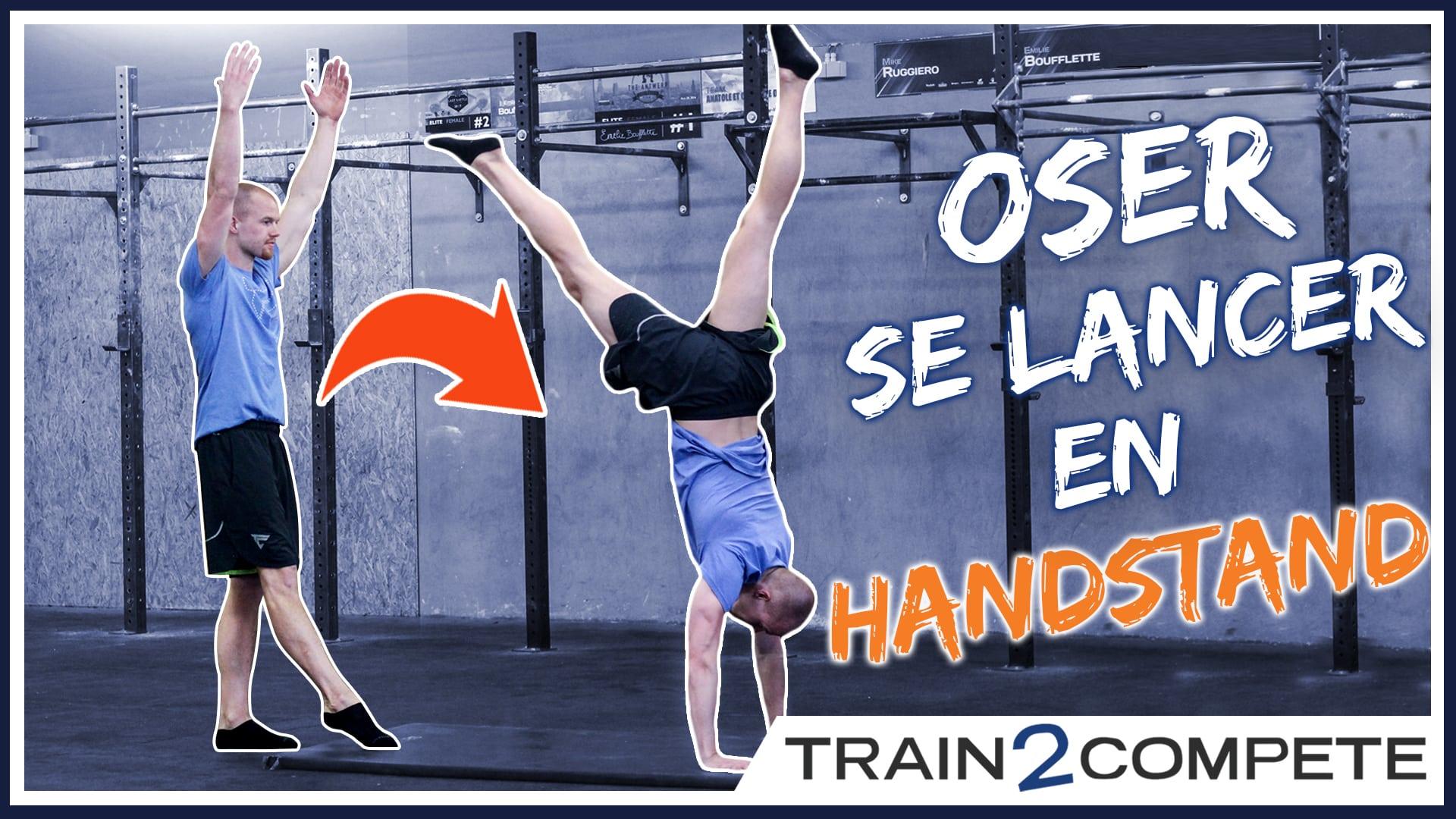 Comment apprendre le handstand – CrossFit