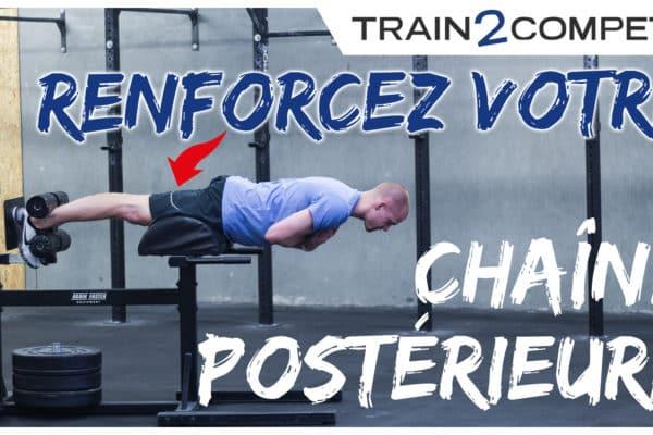 Exercices de renforcement de la chaîne postérieure - ischios - CrossFit