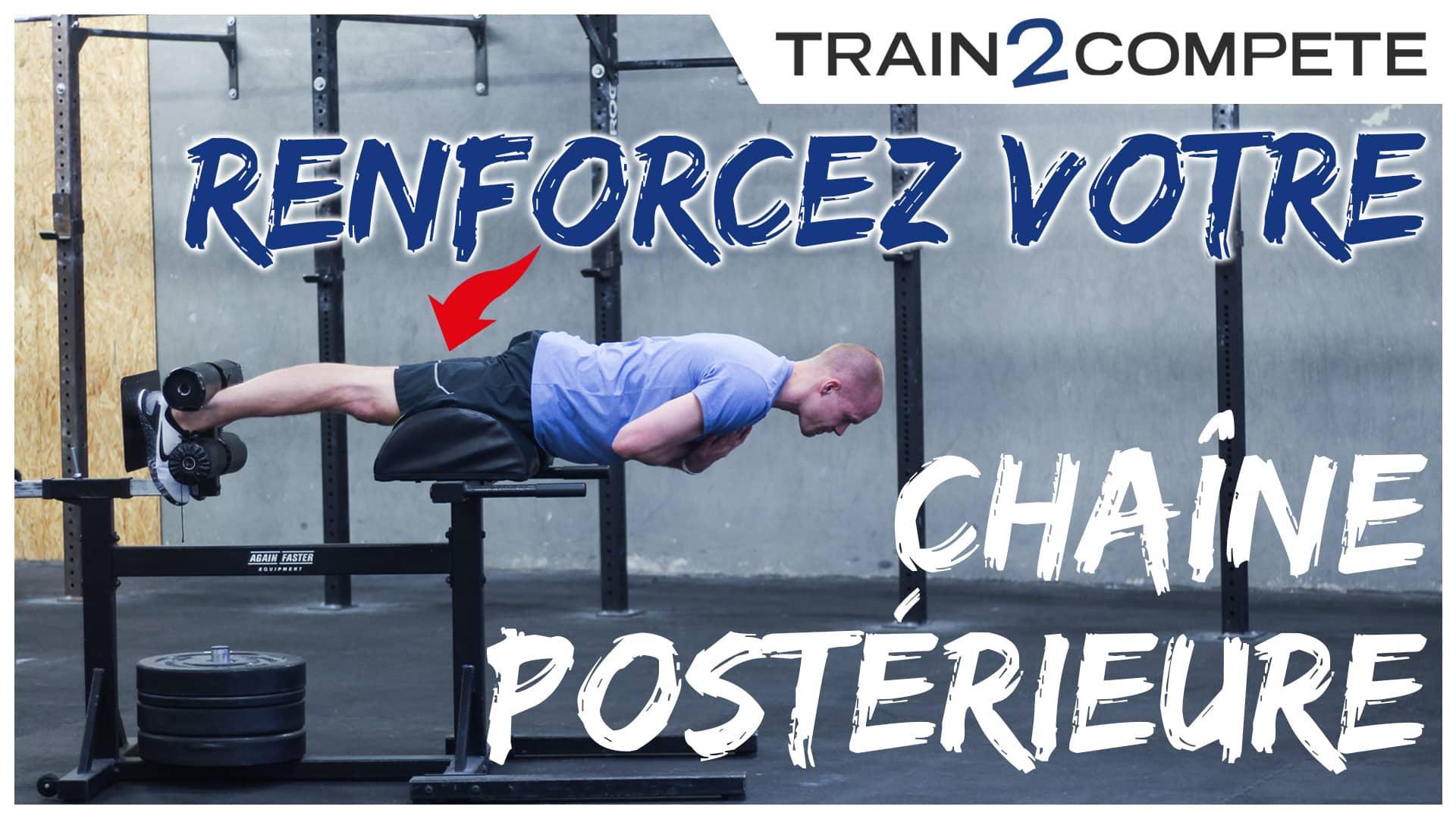Renforcement chaîne postérieure ischios squats CrossFit