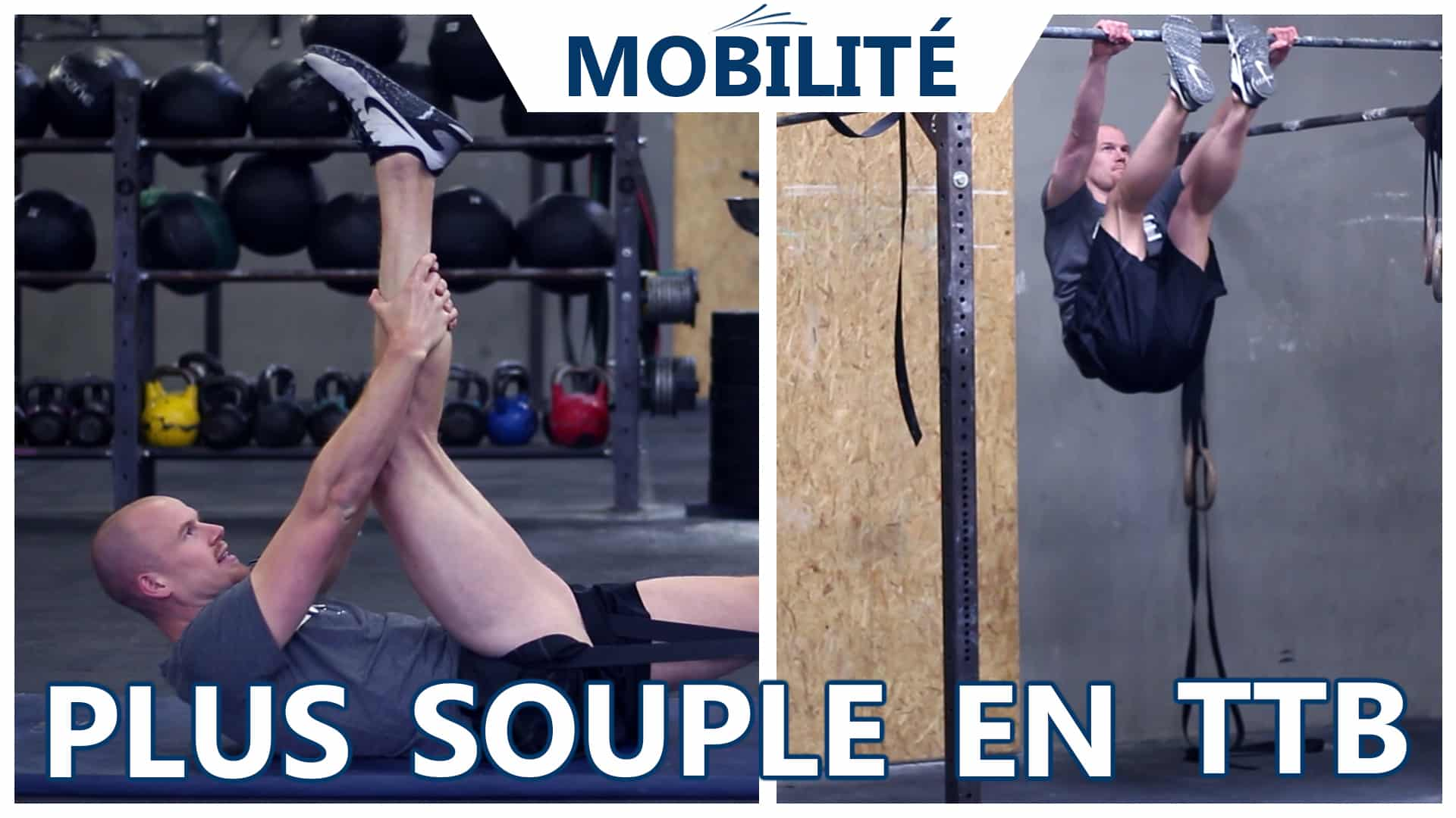 Souplesse ischios pour toes-to-bar CrossFit